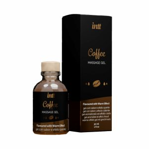 Gel de Massage Embrassable Chauffant Coffee 30 ml - Intt - SexyAvenue