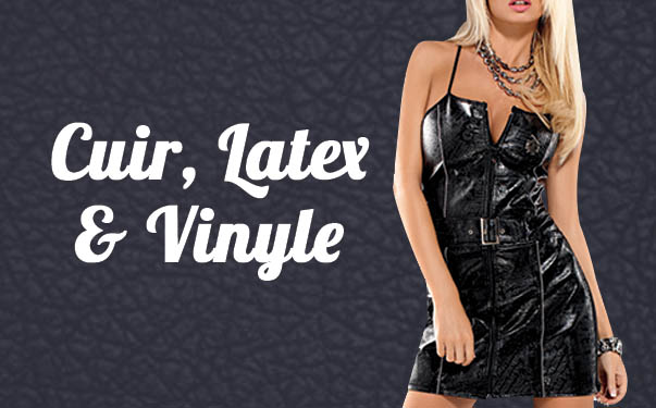 Photo Cuir, latex et vynile
