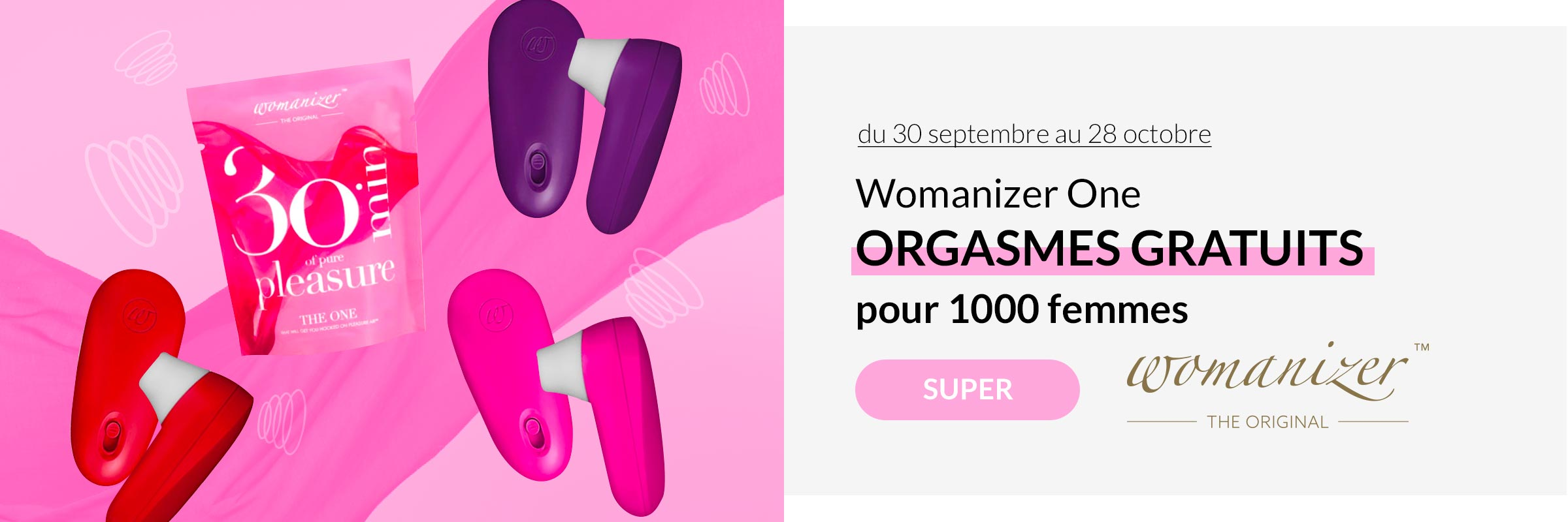 Womanizer ONE GRATUIT