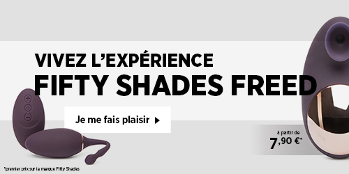 Découvrez la collection Fifty Shades Freed
