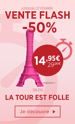 Vente Flash Tour est Folle Dildo